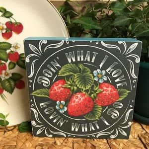 Strawberry Wall Decor